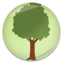 shiny-tree-button
